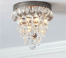 European luxury modern crystal material ceiling pendant light for wedding decoration