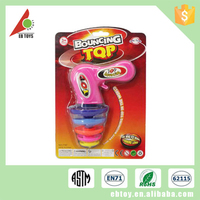Promotion china children colorful spinning top wholesale toy guns