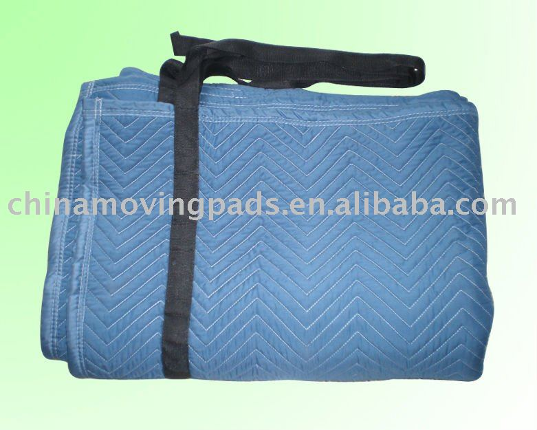 Microfiber Moving Blankets With Nylon Straps
