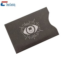 Rfid Credit Card Shield Credit Card Holder Rfid Sleeves for Wallet or Case