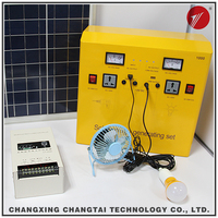 1000W portable home solar systems with PV Panel