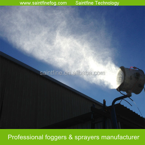 high efficiency dust suppression system