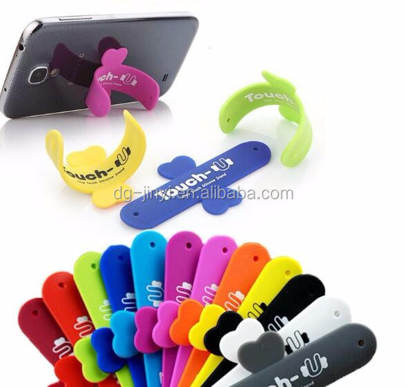 High quality silicone cell phone stand wholesale one touch cell phone stand