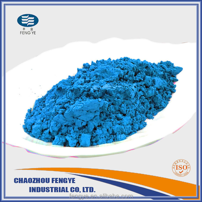 Turquoise blue ceramic pigment glaze stain for household