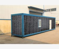 friendly recycling system prefab cabin container house heat insulation