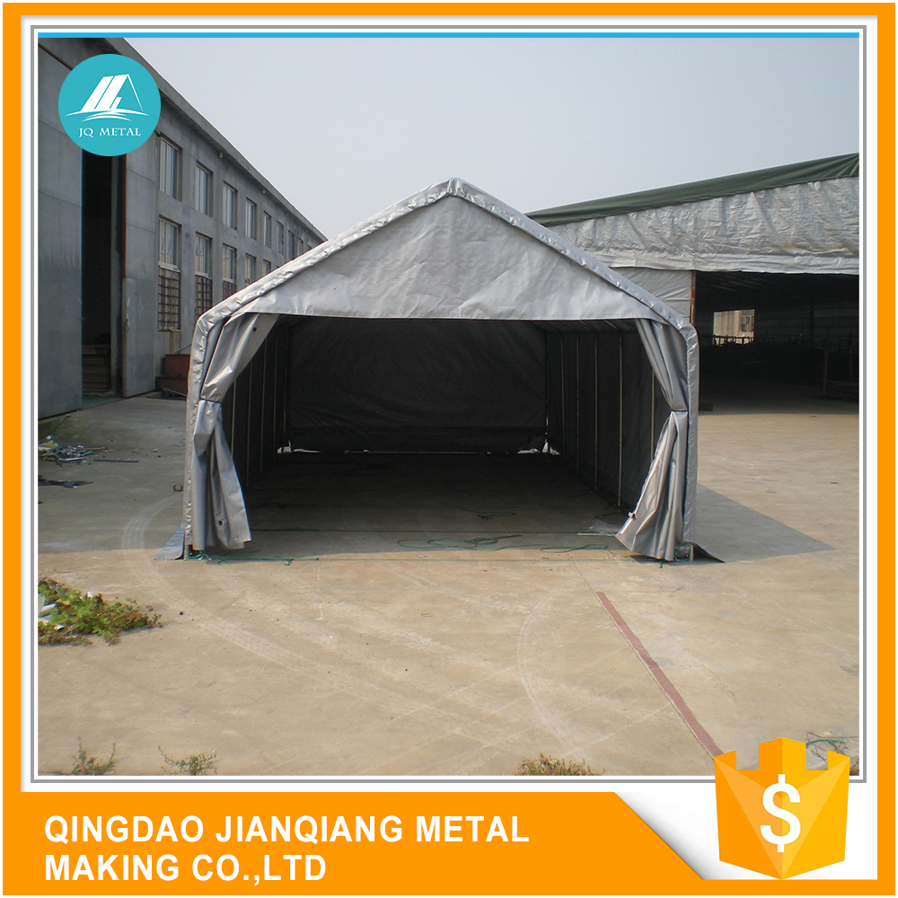 JQA1220 China Supplier Tarpaulin Fabric Cover Cheap Carports Canopy