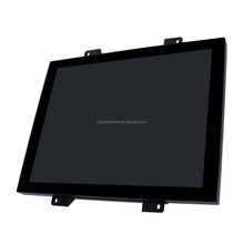 "arcade game machine monitor, open frame 19"" tft lcd monitor for industrial control / atm / slots / kiosk etc 3M /ELO compatible"