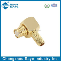 SMP copper alloy rf connector
