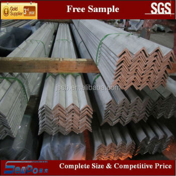 High Quality Sand Blasting Finish 304 Stainless Steel Angle Bar
