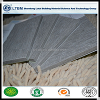 High quality fireproof Fiber cement board price 100% non asbestos