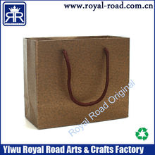 Waxed paper gift bags and boxes