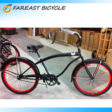 Beach Cruiser Bike Single Speed Bicycle Womens Lady Red Bicycle From China Professional Manufacturers