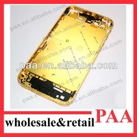 for iphone 4s gold plated middle frame housing
