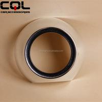 CQL 3.0 mini led projector lens with shroud for car headlight,Nylon silver projector hid decorative cover