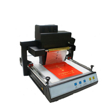 Gold Aluminum Foil Stamping Machine , Cheap Price Automatic Digital Hot Foil Stamping Machine for Sale