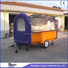 JX-FR300B Jiexian outdoor mobile mini semi food truck for sale 2017