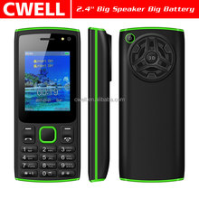 New Arrival 2.4 Inch Wireless FM Big Speaker Mobile Feature Phone Celulares Chinos