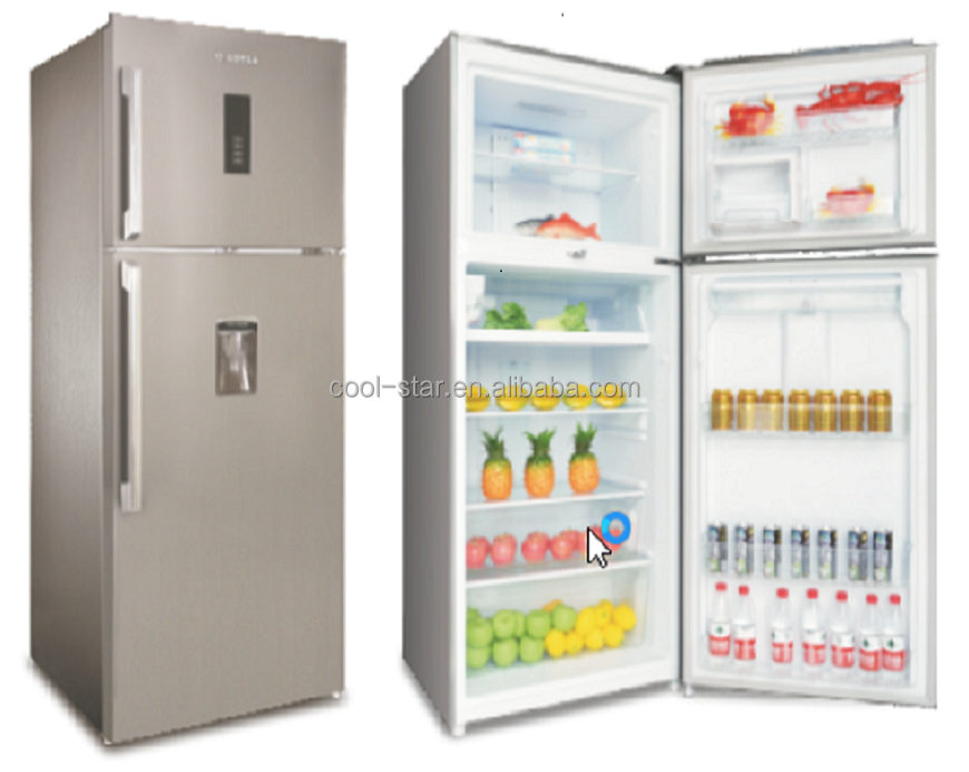 2018 HOT SALE 450 L/15.89 Cu ft frost free top-freezer Refrigerator with big volume