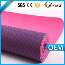 "Durable two tones 72""*24"" 5mm tpe yoga mat"