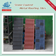 Zinc roof sheet price coated steel roof tile