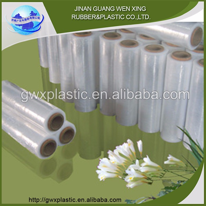 HDPE plastic colorful plastic food wrap