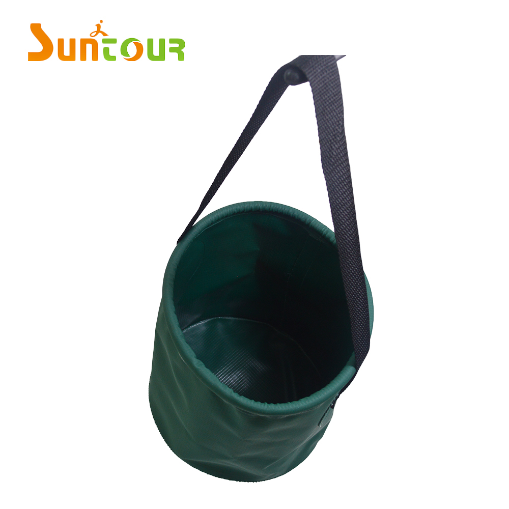 Simple PVC Water Bucket Cheap Camping Water Container With Single Handle
