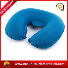 Low price travel pillow neck inflatable adjustable inflatable pillow for airplane camping inflatable pillow