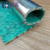 Waste recycling foam carpet padding