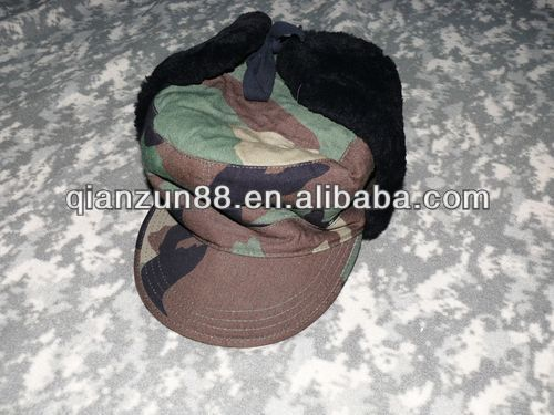 Army Winter Hat Ear Flap Hat Pattern