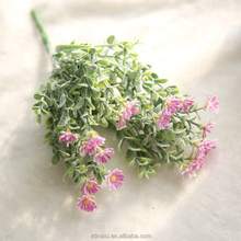 1 Bouquet Artificial Daisy Flowers Simulation Plants Fake flowers Marguerites Plastic Flowers for Home Wedding Decoration