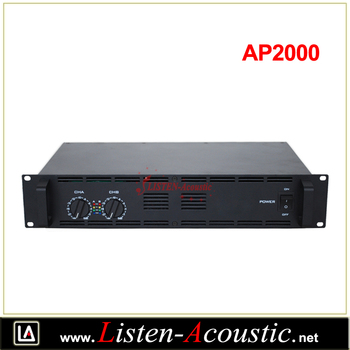AP-2000 2*1000W Professional Outdoor Audio High Power Amplifier