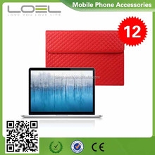 Wholesale business style file pocket genuine laptop leather Case for ipad 2 3 4 in factory price B022895(2)