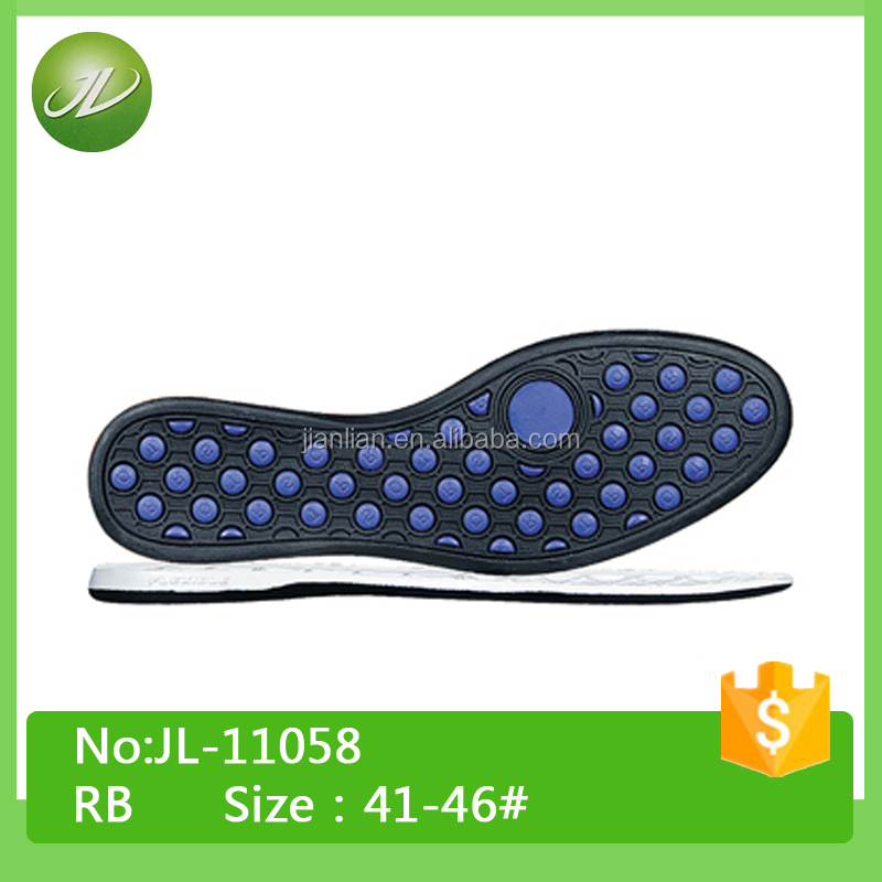 Mens soft sole Carbon Rubber sole for shoes