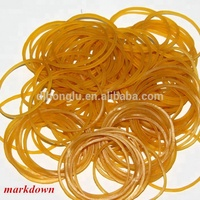 High quality natural rubber bands for money