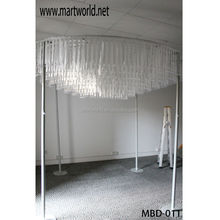 wedding tent hall decorations, White wedding tent for wedding stage decorations,indoor wedding tents(MBD-011)