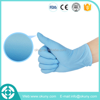 Safety powder fee disposable nitrile gloves used in Hospital, Hotel, Laboratory, Restaurant