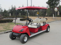 2 seats electric car for golf for golf courses