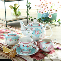 2016 New product 17 Pieces Elegant ceramic Tea Set