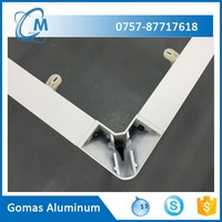 Foshan manufacturer aluminum decorative metal table legs