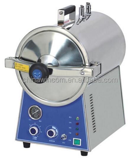 Latest Design 16/24L Stainless Steel Table Top Rapid Steam Sterilizer With Low Price