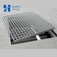 Hot galvanized walkway grating/galvanized open mesh steel flooring grid