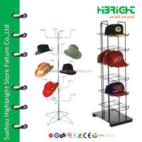 Hat stand display rack for retail store