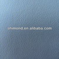 Grey Classical Surface Design PVC Synthetic Leather For Car Interior