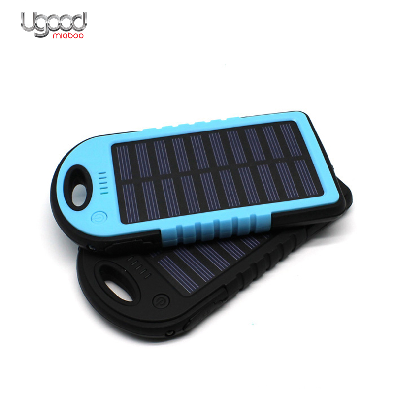 Wholesale Mini Slim Wireless Usb Portable Waterproof Solar Power Bank Charger For <strong>Mobile</strong> Phone