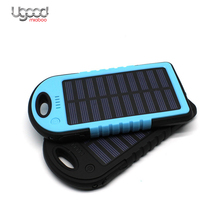 Wholesale Mini Slim Wireless Usb Portable Waterproof Solar Power Bank Charger For Mobile Phone