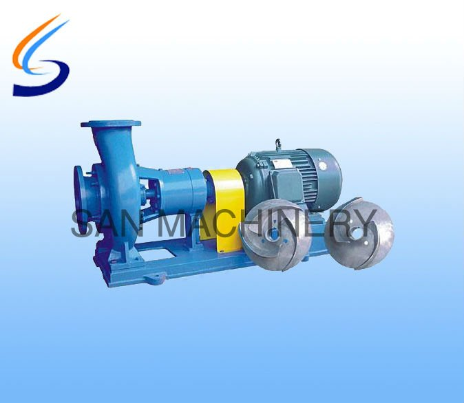 China Waste Paper Pulp Pump with Two Kinds of Impellers Low Price