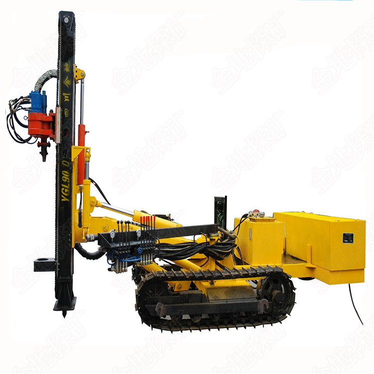 Most competitive crawler mounted water well drilling rig