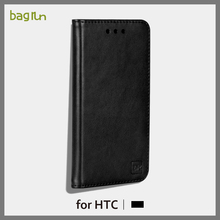 High Quality Genuine Leather Cover Cell Phone Case for HTC One A9 with Stand Function Case