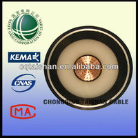 State Grid 110kV Cu Core,XLPE Insulated Corrugated Aluminum Sheathed High Voltage Cable 110kv xlpe cable