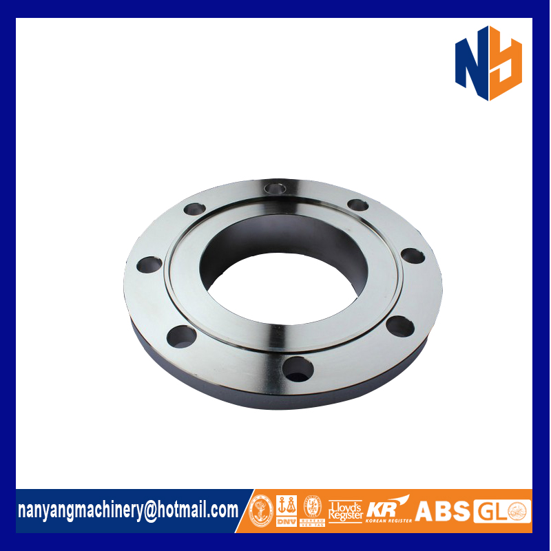 Stainless steel forged reel flange